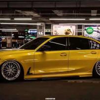 BMW G20低姿态改装 AIRBFT气动避震魅力打造