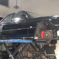 奔驰W201改装AIRBFT气动避震 将低趴进行到底