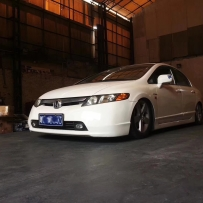 Civic fa1改装新款AIRBFT气动避震 四轮独立升降 简单造型 性价比高!