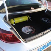 气动避震李洋分享大众CC改装ACCUAIR设计与众不同后备箱造型