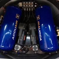 马自达6旅行版ACCUAIR气动避震后备箱造型案例双泵双罐