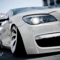 经典车型宝马7系F02改装气动避震 演绎HF经典姿态