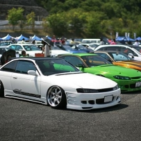 日本HellaFlush风格改装展 日本HellaFlush风格关西车展,心中的感动和喜悦!